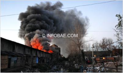 el humo puede tapar muchas cosas, pero no la miseria en Argentina 2008