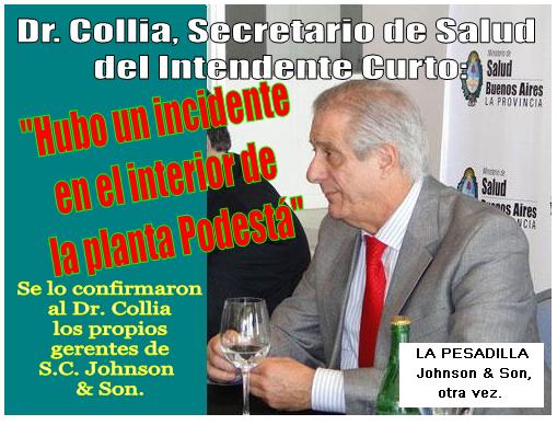 Dr. Jorge Collia, Secretario de Salud de Tres de Febrero.