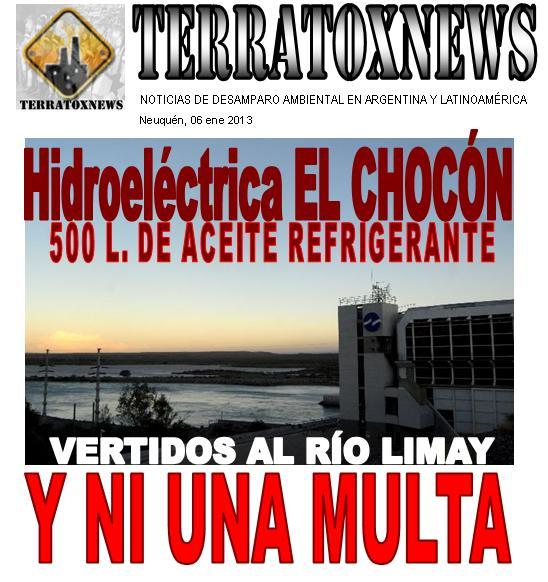 hidroeléctrica El Chocón