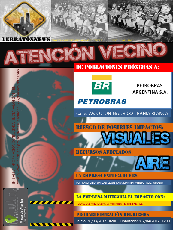 PETROBRAS ARGENTINA S.A. BAHIA BLANCA 07.04.2017