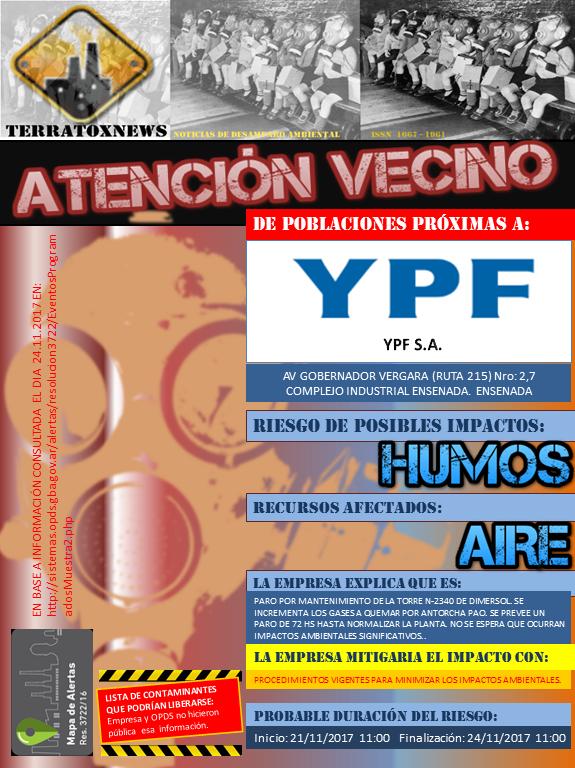 YPF SA Ensenada 23.11.2017 Anexo I