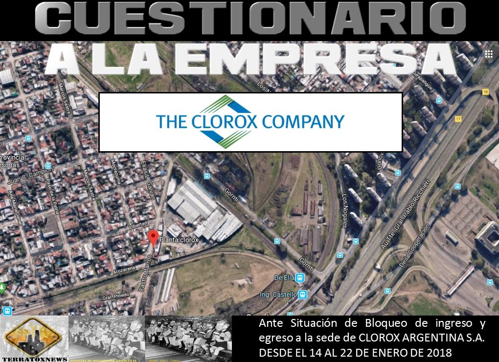 Clorox_cuestionario a empresa