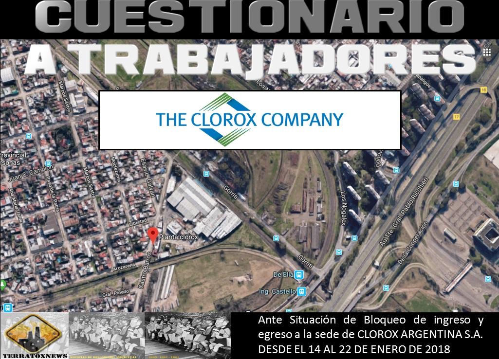 Clorox_cuestionario a trabajadores