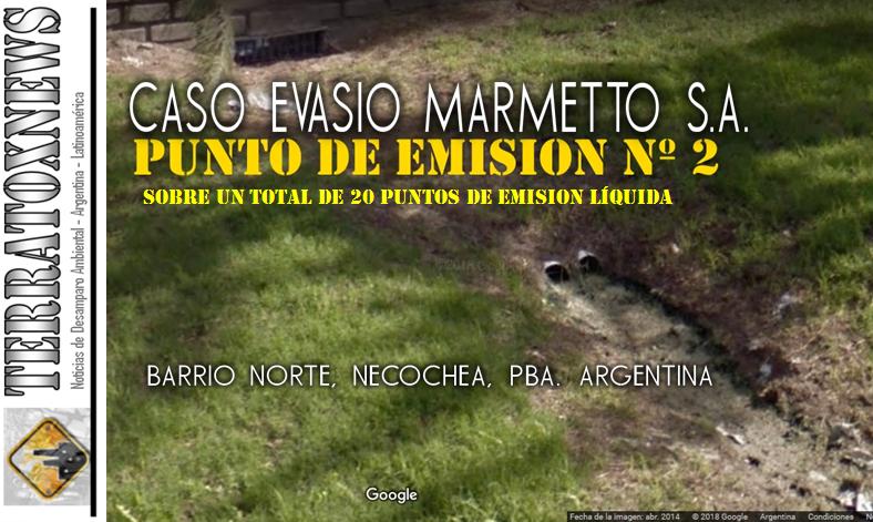 NECOCHEA PUNTO DE EMISION LÍQUIDA MARMETTO SA